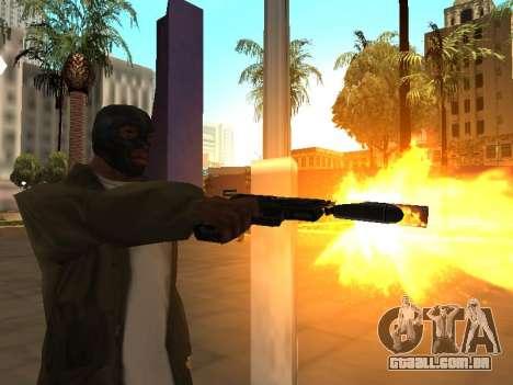 WeaponStyles para GTA San Andreas sétima tela