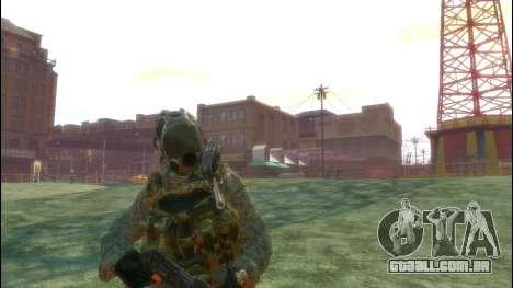 Um soldado russo v 3.0 para GTA 4 terceira tela