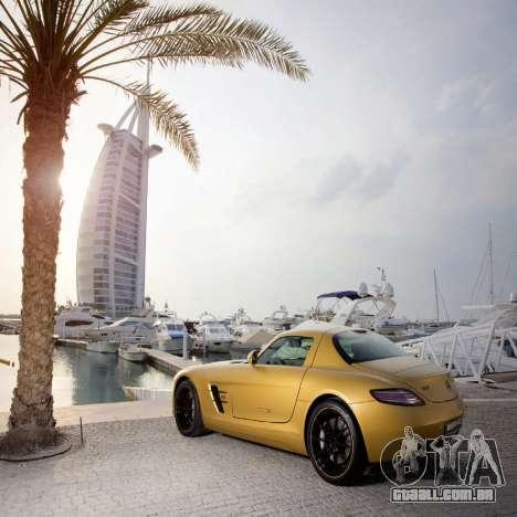 Telas de carregamento, Mercedes-Benz para GTA 4 por diante tela