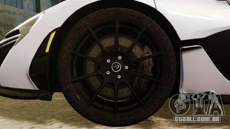 McLaren P1 [EPM] para GTA 4 vista de volta