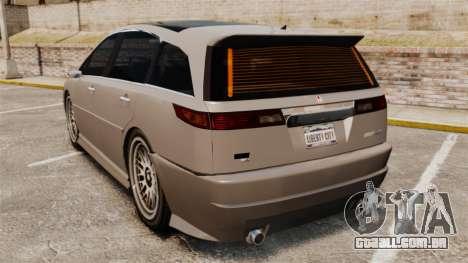 Dinka Honda Odyssey JDM Version para GTA 4 traseira esquerda vista