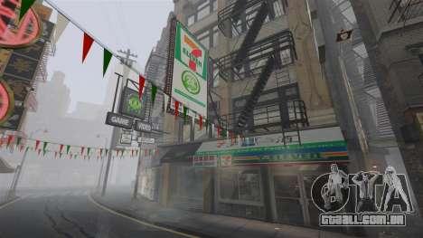 Lojas de Chinatown para GTA 4 por diante tela
