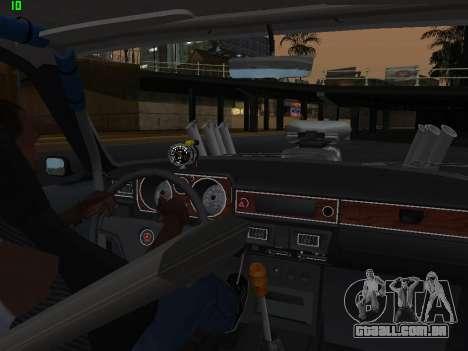 Edição de arrastar gás 24 para vista lateral GTA San Andreas