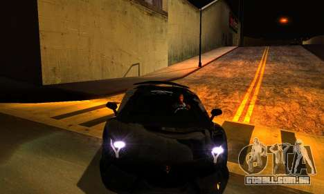 ENBSeries By Avatar para GTA San Andreas segunda tela