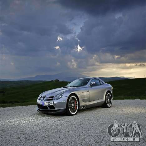 Telas de carregamento, Mercedes-Benz para GTA 4 sexto tela
