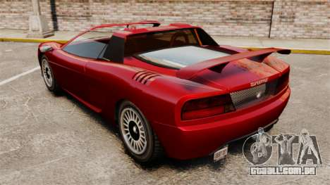 O novo Turismo para GTA 4 esquerda vista