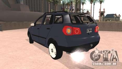 Volkswagen Suran para GTA San Andreas esquerda vista