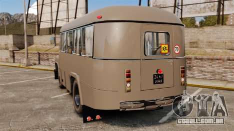 Kavz-685 para GTA 4 traseira esquerda vista