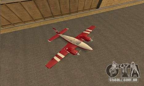 Rustler GTA V para GTA San Andreas vista traseira