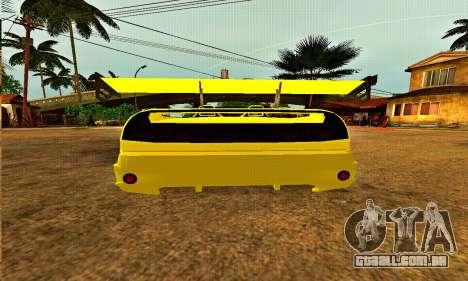 Infernus Cabrio Edition para GTA San Andreas vista direita