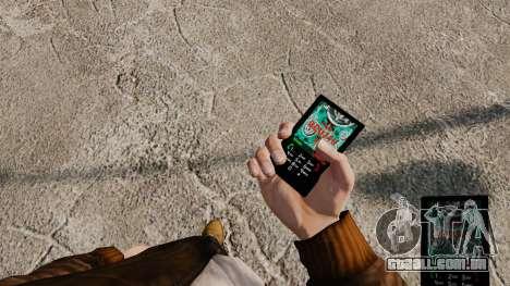 Temas para celular Vampire The Masquerade para GTA 4 terceira tela
