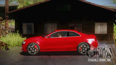 Audi RS5 2012 para GTA San Andreas esquerda vista