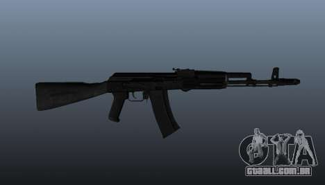 AK-74 m para GTA 4 terceira tela