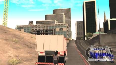 Scania 112HW para GTA San Andreas traseira esquerda vista