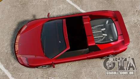 O novo Turismo para GTA 4 traseira esquerda vista