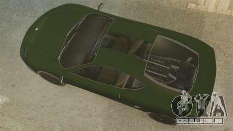Turismo com EPM para GTA 4 traseira esquerda vista