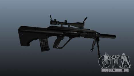 Automatic rifle Steyr AUG3 para GTA 4 terceira tela