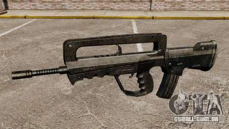 Fuzil de assalto FAMAS para GTA 4 terceira tela