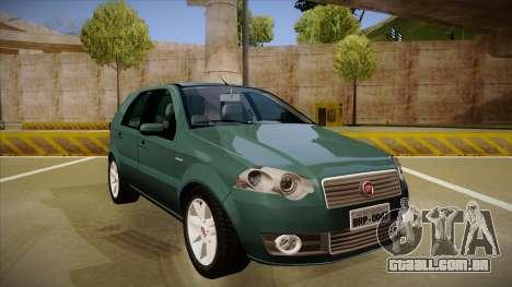 FIAT Palio ELX 2010 para GTA San Andreas esquerda vista