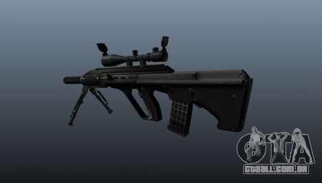 Automatic rifle Steyr AUG3 para GTA 4 segundo screenshot