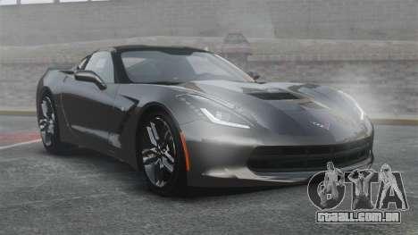 Chevrolet Corvette C7 Stingray 2014 para GTA 4