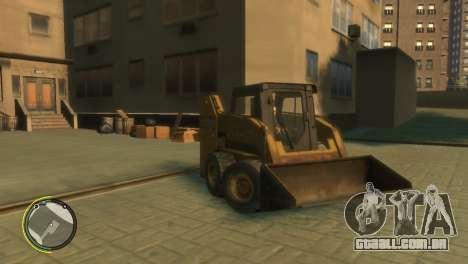 Carregador de BF3 para GTA 4 vista de volta