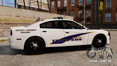 Dodge Charger 2013 AST [ELS] para GTA 4 esquerda vista