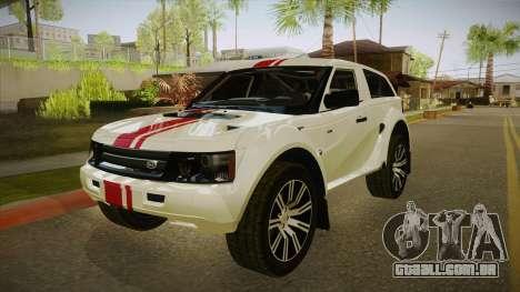 Coco EXR S 2012 FIV & APT para GTA San Andreas esquerda vista