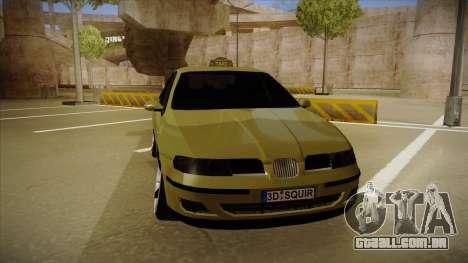 Seat Toledo German Style para GTA San Andreas esquerda vista
