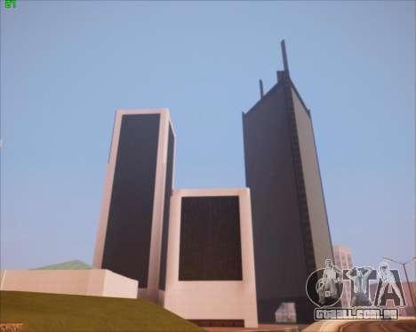SA Graphics HD v 2.0 para GTA San Andreas por diante tela