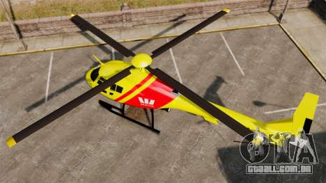 Westpac Rescue Australia para GTA 4 traseira esquerda vista