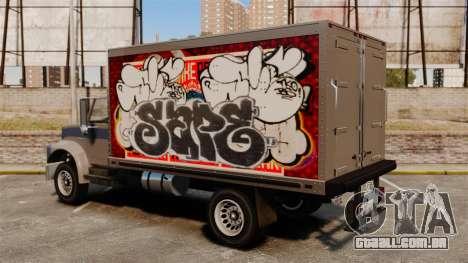 Grafite novo de Yankee para GTA 4 vista direita