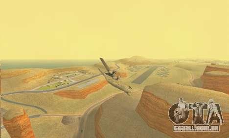 Hercules GTA V para GTA San Andreas vista traseira