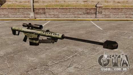O Barrett M82 sniper rifle v6 para GTA 4