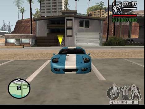 O seqüestro de carros para GTA San Andreas terceira tela