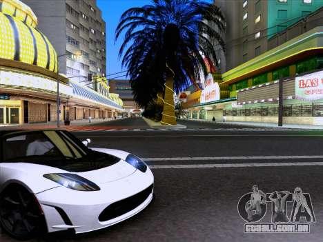 Tesla Roadster Sport 2011 para GTA San Andreas esquerda vista