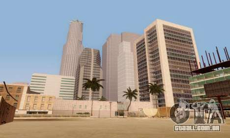 ENBSeries for low and medium PC para GTA San Andreas sétima tela