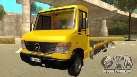 Mercedes-Benz Vario Towtruck para GTA San Andreas