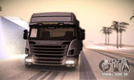 Scania R500 Topline para GTA San Andreas vista direita