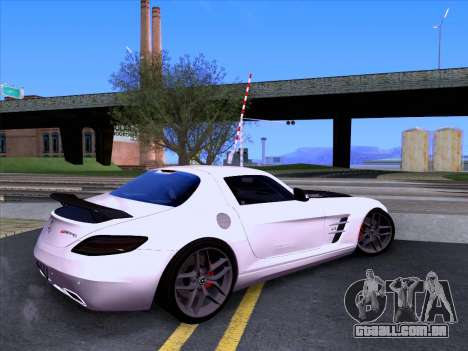 Mercedes-Benz SLS AMG GT 2014 Final Edition para GTA San Andreas esquerda vista