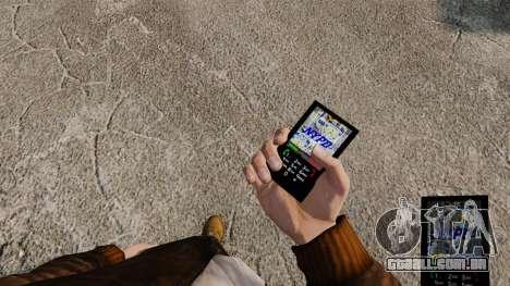 Temas para serviços de telefone, Nova Iorque para GTA 4 terceira tela