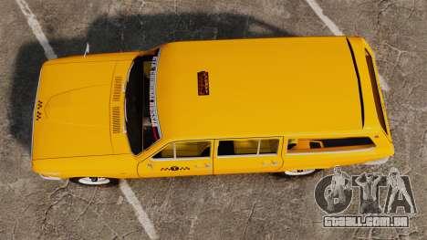 Táxi de Volga GAZ-24-02 para GTA 4 vista direita