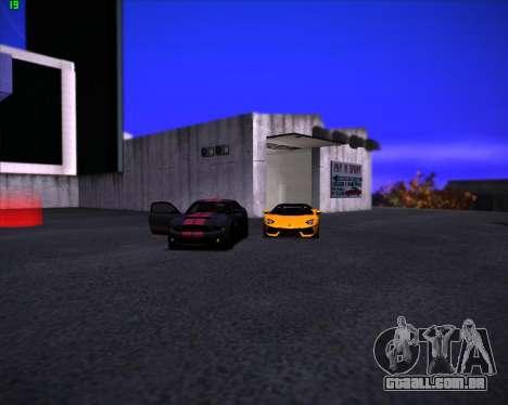 SA Graphics HD v 3.0 para GTA San Andreas por diante tela