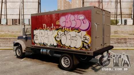 Grafite novo de Yankee para GTA 4 esquerda vista