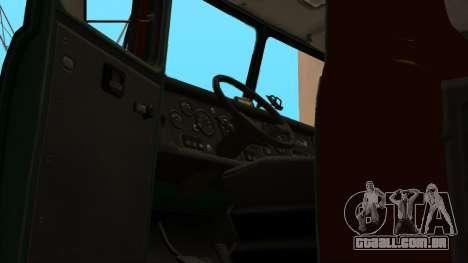 Caminhão escola de condução v. 2.0 para GTA San Andreas vista inferior