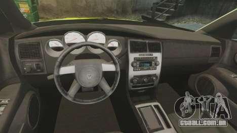 Dodge Magnum West Coast Customs para GTA 4 vista de volta