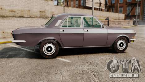 Volga GAZ-2410 v2 para GTA 4 esquerda vista
