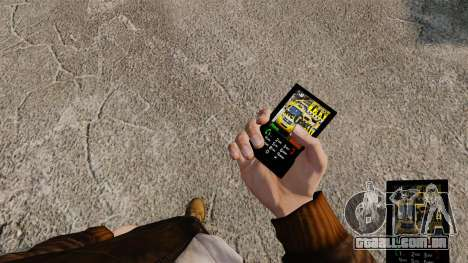 Temas para serviços de telefone, Nova Iorque para GTA 4 segundo screenshot