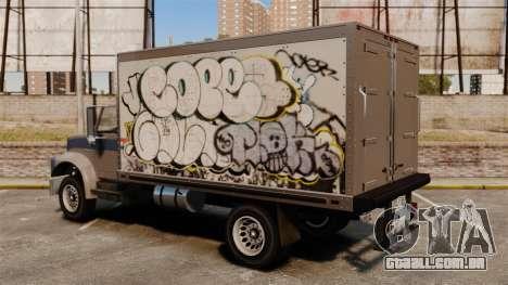 Grafite novo de Yankee para GTA 4 traseira esquerda vista