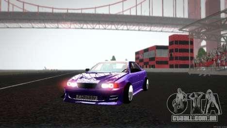Toyota Chaser Tourer V para vista lateral GTA San Andreas